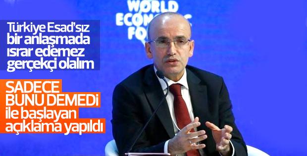 Mehmet Şimşek Suriye krizini değerlendirdi