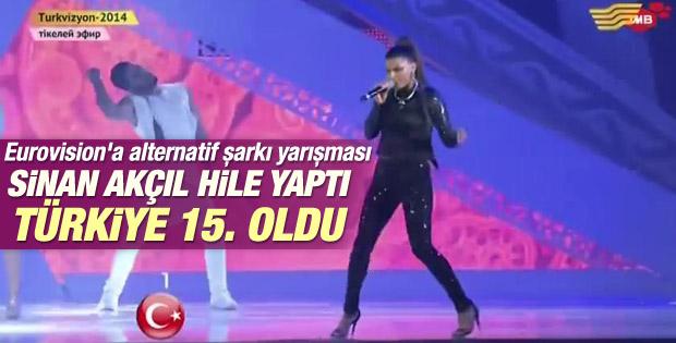 Türkvizyon'da Sinan Akçıl skandalı İZLE