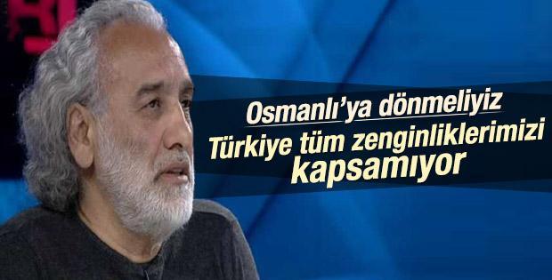 Sinan Çetin: Türkiye'nin adı Osmanlı olarak devam etmeli