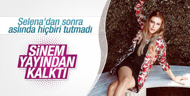 Sinem Kobal'ın dizisi bitiyor