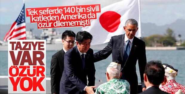 Şinzo Abe Pearl Harbor ziyaretinde özür dilemedi