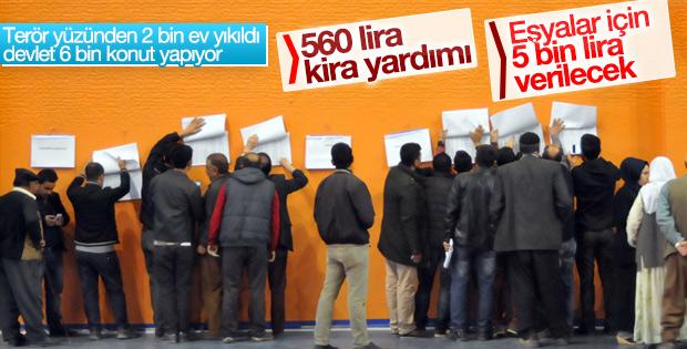 Şırnak'ta 6 bin yeni konut yapılacak