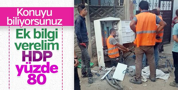 Şırnak'ta kaçak elektrikle mücadele