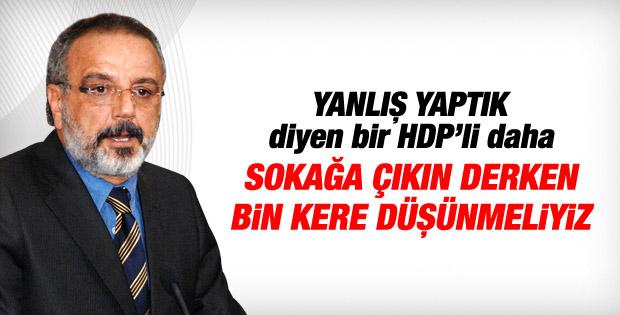 HDP'li Sırrı Sakık da Kobani eylemlerini eleştirdi