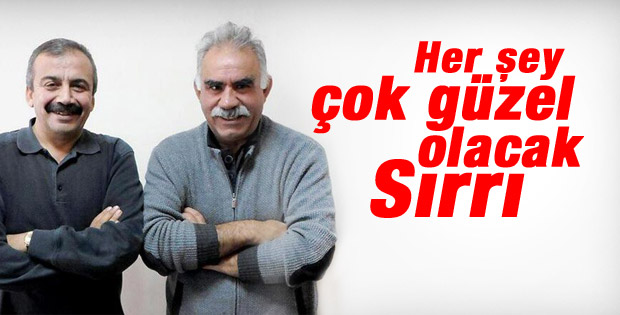 Sırrı Süreyya Önder İle Öcalan birlikte poz verdi