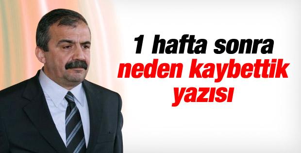 Sırrı Süreyya Önder: İstanbul'u neden alamadık