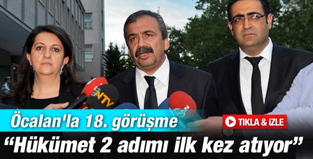 Sırrı Süreyya Önder İmralı dönüşü açıklama yaptı İZLE