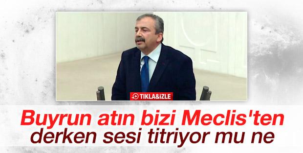 Sırrı Süreyya Önder: Buyrun atın bizi Meclis'ten