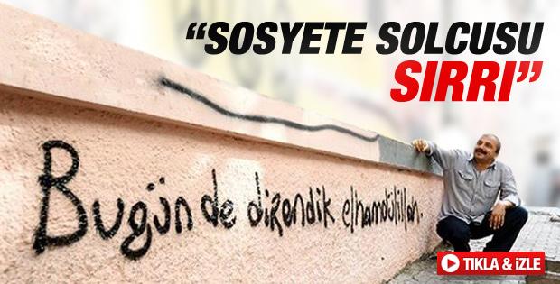 Cem Küçük'ten Sırrı Süreyya'ya: Sosyete solcusu