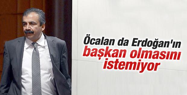 Sırrı Süreyya Öcalan'ın başkanlık fikrini söyledi