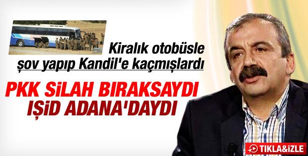 Sırrı Süreyya: PKK silah bıraksaydı IŞİD Adana'daydı İZLE