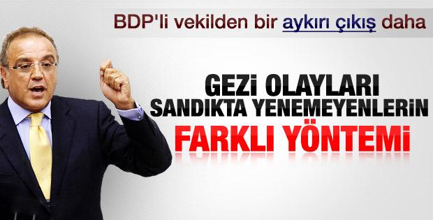 Sırrı Sakık'tan sürpriz Gezi Parkı ve AK Parti çıkışı