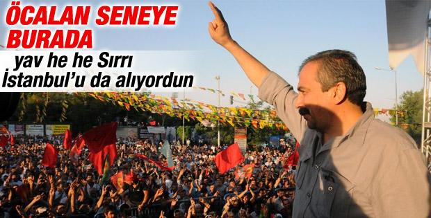 Sırrı Süreyya Önder: Öcalan önümüzdeki yıl bu meydanda olacak
