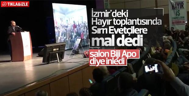 HDP'li Sırrı Süreyya Önder seçmenlere hakaret etti
