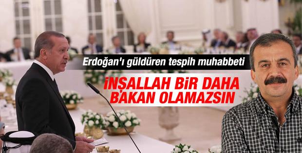 Sırrı Süreyya Erdoğan'ı güldüren diyaloğu anlattı