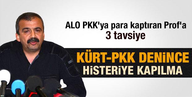 Sırrı Süreyya Önder'den Canan Karatay'a tavsiyeler