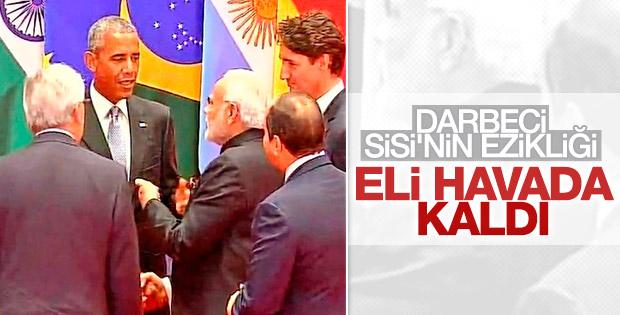 Sisi G20'de alay konusu oldu