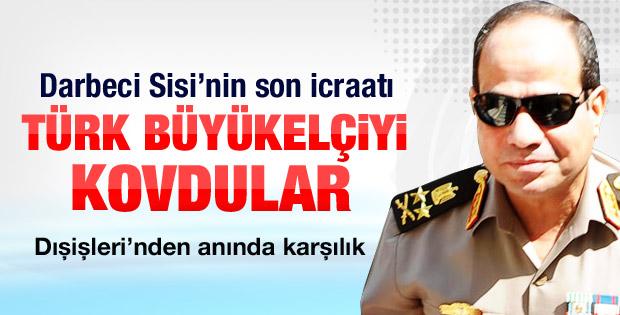 Mısır Türk Büyükelçiden ülkeyi terk etmesini istedi