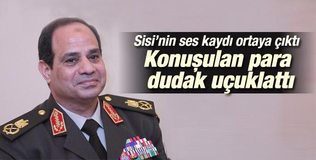 Sisi'nin kurmaylarla yaptığı konuşmasının ses kaydı çıktı