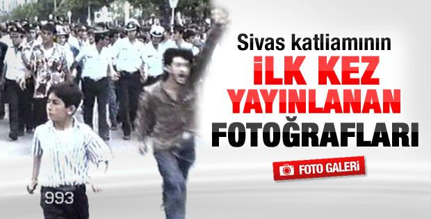 Sivas katliamının ilk kez yayınlanan fotoğrafları