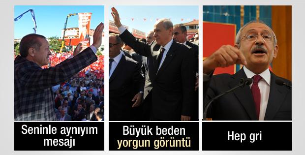 Erdoğan, Bahçeli, Kılıçdaroğlu ne giyiyor