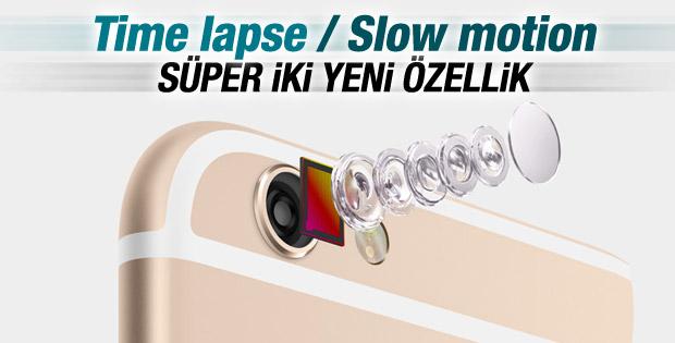 iPhone'da hızlı çekim ve ağır çekim kullanımı