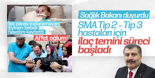 SMA hastalarının ilaç temini için süreç başlatıldı