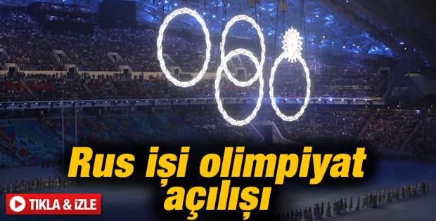 Soçi 2014 Kış Olimpiyat Oyunları açılış töreni