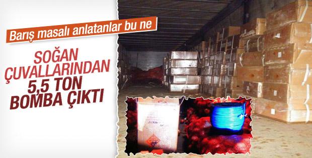 Şanlıurfa'da 5.5 ton bomba yüklü TIR ele geçirildi