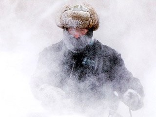 ABD'de soğuk ve karlı hava esareti sürüyor