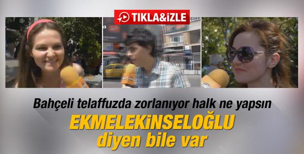 İstanbullular'ın Ekmeleddin İhsanoğlu ile imtihanı İZLE