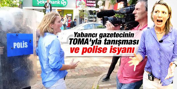 Soma'da polis müdahalesi