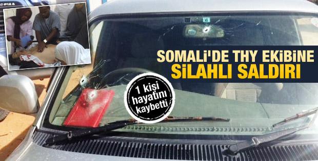 Somali'de THY çalışanlarının bulunduğu araca saldırı