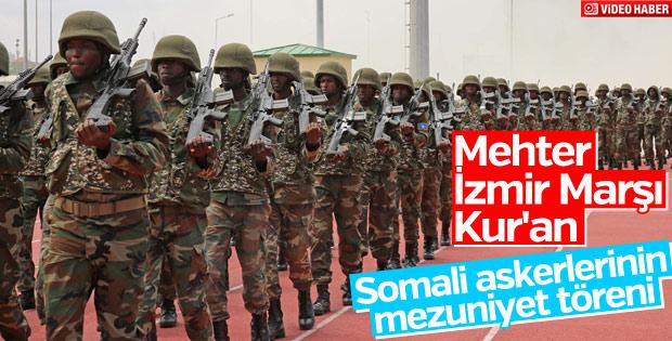 TSK'nın eğittiği Somalili astsubaylar mezun oldu