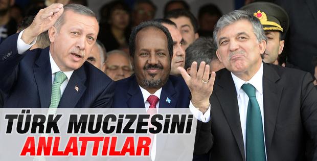 Somali Cumhurbaşkanı Marmaray açılışında