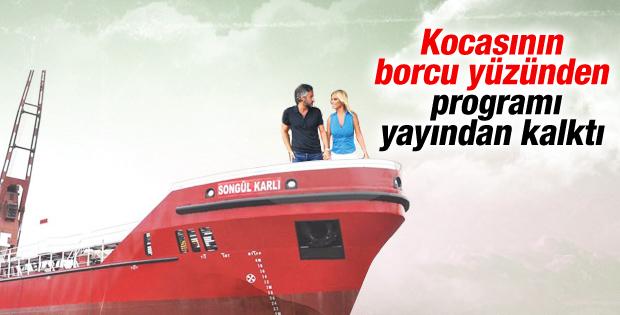 Eşinin borçları Songül Karlı'nın programı bitirdi