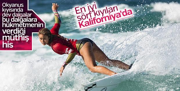 Kaliforniya'nın resmi devlet sporu: Sörf