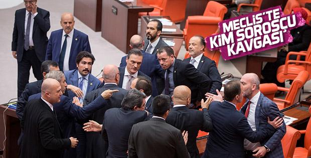 Meclis'te Soros gerginliği