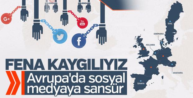 Avrupa sosyal medyayı kontrol altına alıyor