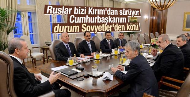 Türkler Kırım'dan sürgün ediliyor