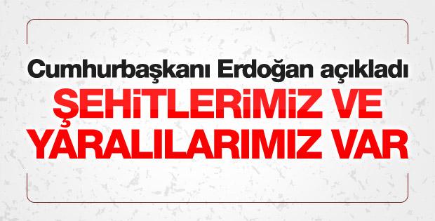 Erdoğan Beşiktaş'taki saldırıyla ilgili açıklama yaptı