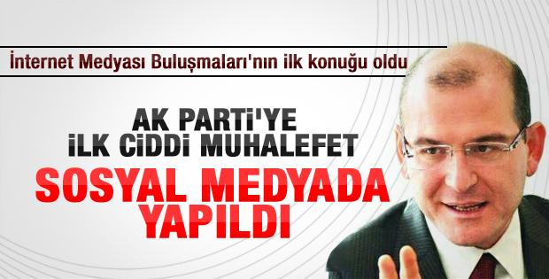 Soylu: AK Parti'ye karşı ilk ciddi muhalefet sosyal medya