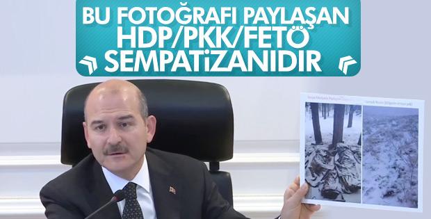 Bakan Soylu: Yalan paylaşım yapanlar HDP sempatizanı