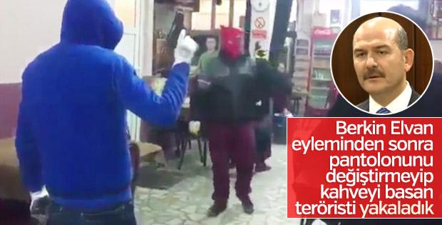 Soylu: Kahvehaneyi basan silahlı teröristleri yakaladık