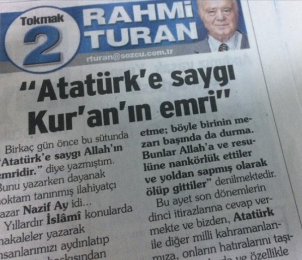 Laik Kemalist Sözcü, Kur'an mealine başladı