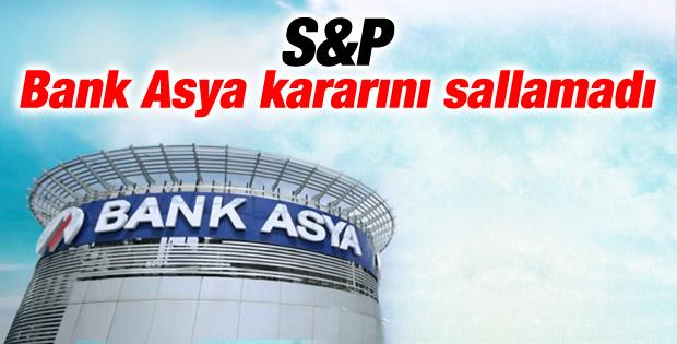 Standard & Poor's'tan Bank Asya açıklaması
