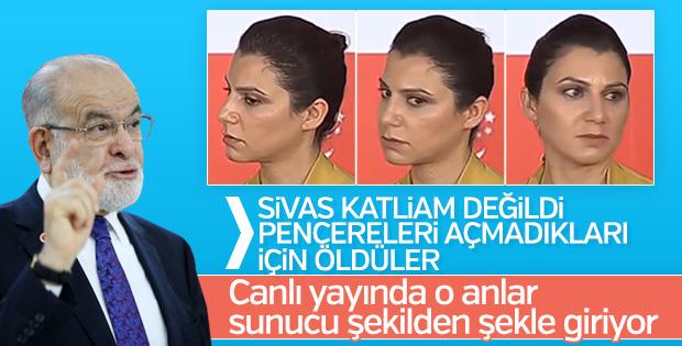 Temel Karamolloğlu'nun sözleri spikeri şaşırttı