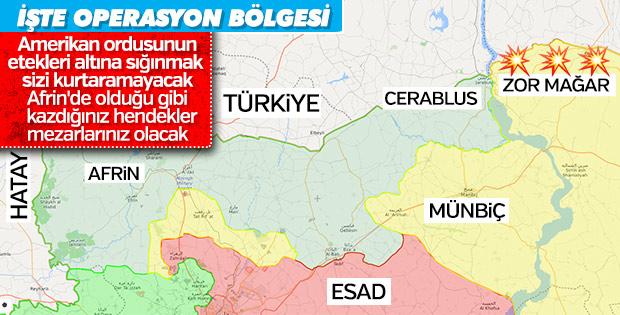 Suriye'nin kuzeyinde YPG'nin sonunu getirecek operasyon