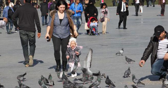 Türkiye hafta sonuna kadar sıcak havanın etkisinde