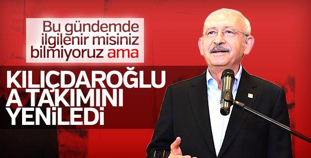 Kemal Kılıçdaroğlu'nun A Takımı